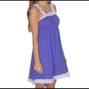 Lauren James purple dress